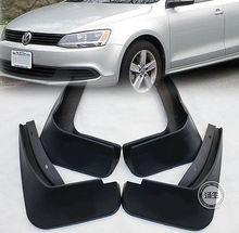 FIT FOR 2011 2012 2013 2014 MK6 A6 VW JETTA MUD FLAP FLAPS SPLASH GUARDS MUDGUARD VOLKSWAGEN(China (Mainland))