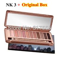 2014 Brand New nk3 Eye Shadow Palette 12 Colors Eye Shadow Palette NK 3 Wholesale Free Shipping Drop Shipping