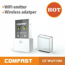 Venta caliente! Comfast 2014 nuevo mini usb wi-fi adaptador inalámbrico 150 mbps tarjeta de red wi-fi redes 802.11n envío gratis al por mayor(China (Mainland))