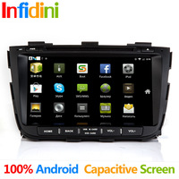 Pure Android 4.2 kia Sorento 2013 Android dvd gps with 3g WiFi +Capacitive Screen +radio bluetooth+Wifi Adapter gift+Camera gift