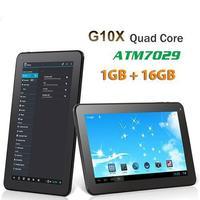 """G10X: 10"""" Android 4.2 Tablet PC,1GB RAM,8GB/16GB ROM,ATM7029 Quad Core Tablet,HDMI,WIFI,Dual Cameras,Bluetooth,OTG"""