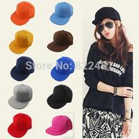 Solid Color blank Baseball Cap Men Women Fashion Hip-Hop swag caps,bone snapback trucker cap,Adjustable Visor Hat ,Hats&Cap