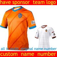 valencia cf 2015 soccer jersey valencia-cf jersey valencia-cf home Away orange best top Thai Quality Jersey