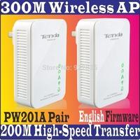 EnglishFirmware 2 Tenda PW201A Wireless Power line Adapter Ethernet Network Extender N300 WiFi hotspot 300M Shortcut Key PROM10