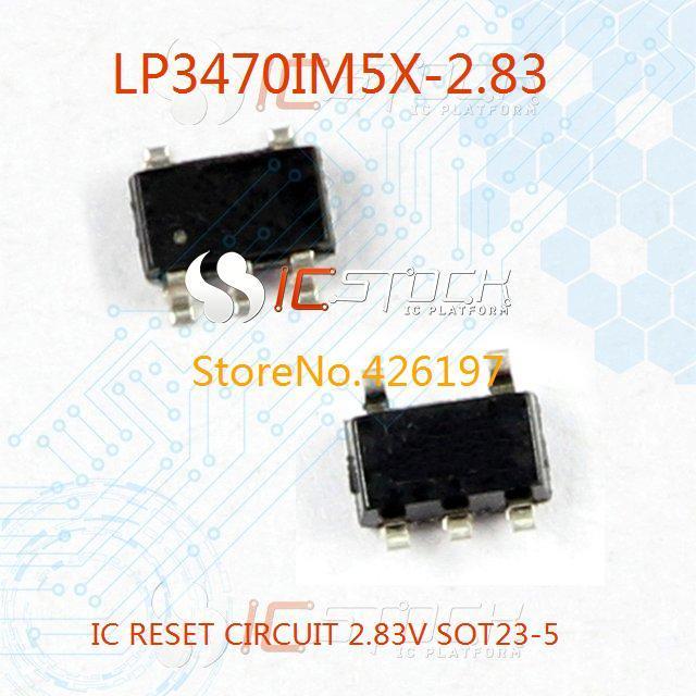LP3470IM5X-2.83 IC RESET CIRCUIT 2.83V SOT23-5 3470 LP3470IM5X 10pcs(China (Mainland))