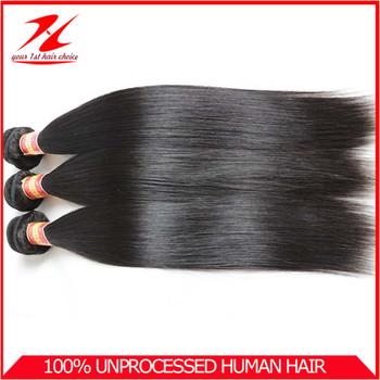 "Luxy Hair Company Brazilian Virgin Straight Hair 100% Unprocessed Human Hair 3/4pcs Brazilian Weave Hair 12""-28"" Free Shipping"
