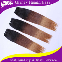 6A Ombre Hair Extensions Brazilian Remy Hair Silky Straight 3 Tone Color 1b 4 27 Ombre Brazilian Hair Weaves