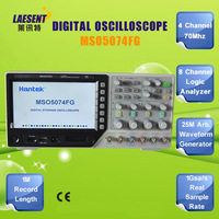 High quality Hantek  MSO5074FG 70Mhz 4 Channel Oscilloscope  & 8 Channel Logic Analyzer & 25MHz Arb. Waveform Generator