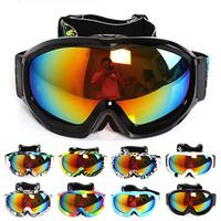 2015 New POLISI P813 Mens Womens Outdoor Ski goggles Glasses Multip-color/dual Lens UV-protection Anti-fog Winter Snow glasses
