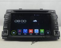 Android 4.4 Car DVD GPS Navigation for Kia Sorento 2010-2012 with 3G/Wifi