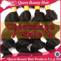 Brazilian virgin remy loose wave pure human hair with lace closure natural color bundle 3pcs 4pcs lot  zhouyuexiang  product