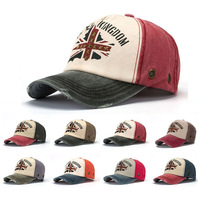 Hot Sales Retro Letter Unisex Printing Rivet Cross Five-pointed star Men -Women Hats Baseball caps Snapback Size adjusted 8Color