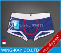 2014 NEW HOT sale100% Guarantee top quality quick dry bodybuilding antisepsis shorts men underwear men boxers 3 Colors