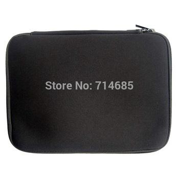 """Бесплатная доставка 10 """" 12 """" 13 """" 14 """" 15 """" 17 """" обычная черный портативный ноутбук рукава сумка водонепроницаемый чехол в компьютер ноутбук планшет пк"""
