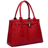New 2014 Vintage Bag Crocodile Grain Women Leather Handbags PU C Line Handbags Louis.bag 4 colors Guchi Women Handbag
