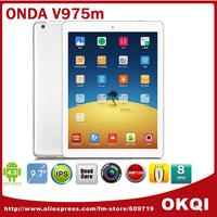 Onda V975M  v3 9.7 inch Quad Core Tablets Cortex A9 2.0GHz Retina Screen 2048x1536 2GB/32GB HDMI Bluetooth Android 4.3