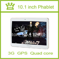 New Tablets Samsung Quad Core 10.1 inch phone call 3G Sim Card Slot tablet pc 2G RAM 16G 1024X600 bluetooth GPS tablets pcs