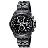 2014 CURREN SPORT QUARTZ Men's Military WATCHES LUXURY CLOCK MEN STAINLESS STEEL WRIST WATCH WITH AUTO DATE relogio,reloj