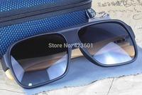 Retro Fashion Hand Made Bamboos Sunglasses Ancient Rectangular Plastic Frame Bamboo Legs Wooden Eyewear UV400