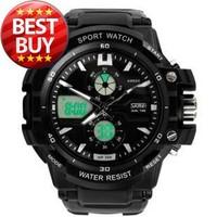 Skmei 0990  Men sports wateproof Wristwatches Fashion electronic digital sports quartz analog watch