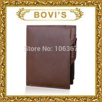New brand wallets men with change pocket zipper coin pocket B001#