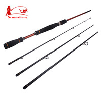Top quality ! Sougayilang  4 section Fishing Rod Strong Telescopic Fishing Rod  Fly fishing Rod Carp Lure Sea Rod Fishing Tackle