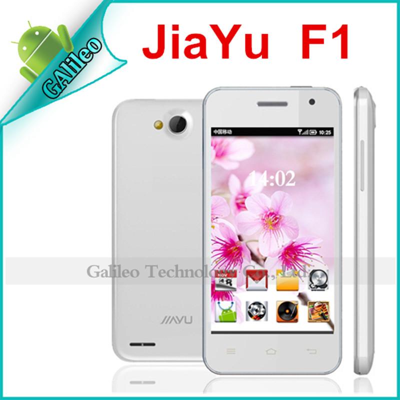 "Jiayu F1 Original 3G WCDMA MTK6572 Dual core 512MB RAM 4GB ROM 4"" 800x480 Android Mobile Phones Russian Spanish Multi language(China (Mainland))"