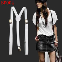 BD004-- Hot sale 3 Y -Back 1.5cm width  Men's braces pants suspenders for women free shipping