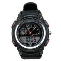 Dual Time 30m Waterproof  Big Case Sports Watch for Men/Mingrui Brand Men's Digital LED Watches 2014 New Clock MR11