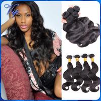 MS Lula Peruvian Virgin Hair Body Wave Grade 5A Peruvian Body Wave Human Hair Weave 3/4 Bundles Lot  Free Shipping Loose Hair