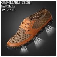 New 2014 spring men's casual shoes men shoe trend fashion popular men sneakers genuine leather shoes four seasons shoes