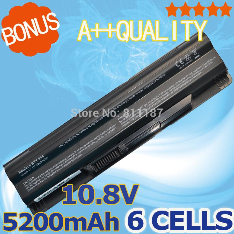 5200 мАч аккумулятор для MSI BTY-S14 BTY-S15 CR650 CX650 ...