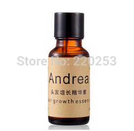 Free shipping Authentic Andrea Hair Growth Essence Anti Hair Loss Liquid 20ml dense UNISEX fast hair regrowth treatment products(China (Mainland))