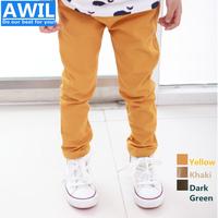 Wholesale children Pure Cotton Casual Pants kid autumn trousers boys pants pencil pants kids pants 2-8 years