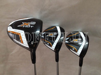 2014 X2 HOT PRO Golf Driver Fairway Woods #3#5 With X-HOT Graphite Shafts Regular Flex 3PCS/LOT