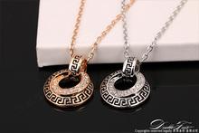 Hot Sale Unique CZ Diamond Pave Party Necklaces Pendants 18K Gold Platinum Plated Wedding Jewelry For