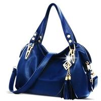 2014 Fashion Brand New High-Quality Pu Leather Tassel Fashion Women Handbag Shoulder Bags Women Messenger Bags Women Bag Bolsas