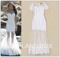 2015 new arrive runway dress quality brand dress fashion dress U010106