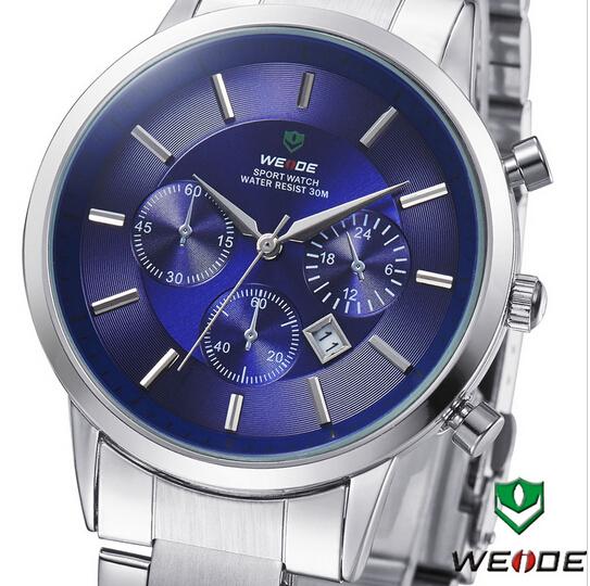 New 2014 WEIDE Men Military Watch Unique Design Fashion Quartz Watch 12-month Sports Watches Guarantee Free Shipping Wristwatch(China (Mainland))