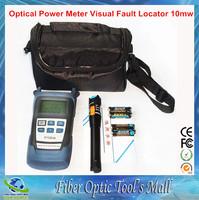 Fiber Optic Cable Tester Optical Power Meter Fiber Optic Test Pen 10mw Localizador e Testador de Cabo