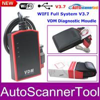 100% Brand New Universal V3.7 VDM UCANDAS WIFI Full System Automotive Diagnostic Tool Support Multi-Languages Update Online