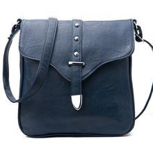 5colors women messenger bag bolsas femininas 2014 rivet casual vintage shoulder bags handbags crossbody bolsos mujer(China (Mainland))
