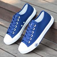 Girl Sneakers Plus Size Women's Canvas Shoes Female Plus Size 40 41 42 43 Solid Color Casual Shoes Flat Single Shoes tenis