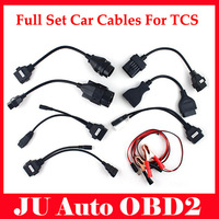 DHL Free 2pcs/lot 2014 Best Quaiity OBD2 Car Cables For CDP Pro Cars Cables Diagnostic Interface Tool 8 Cables