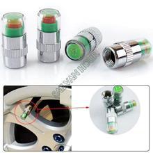 4PCS Car Auto Tire Pressure Monitor Valve Stem Caps Sensor Indicator Eye Alert Diagnostic Tools Kit B11 8385(China (Mainland))