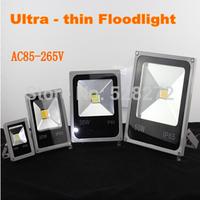1PC Outdoor christmas spotlight waterproof LED Flood light 10W20W30W50W AC85-265V, grey aluminum shell floodlight garden lamp