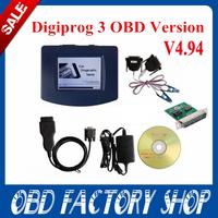 DHL free 2015 Digiprog 3 main unit  V4.94 with ST01,ST04 cable,charger Full Software Odometer Programmer Digiprog III Digiprog 3