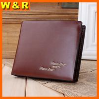2014 New arrival wallets man leather fashion wallets trifold billfold short men wallets B5102