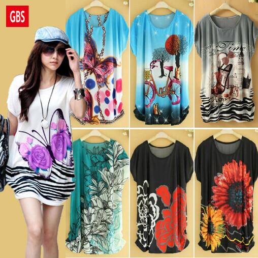 Tropical Rushed Sale Casual Vestido Ladies Silk Dress 2015 Women Chiffon Natural Plus Size Ice Vestidos Femininos Summer Dresses(China (Mainland))