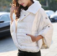 winter coat jacket women A fluffy cloak down jacket jaqueta feminina casual coat desigual casacos femininos trench 3766